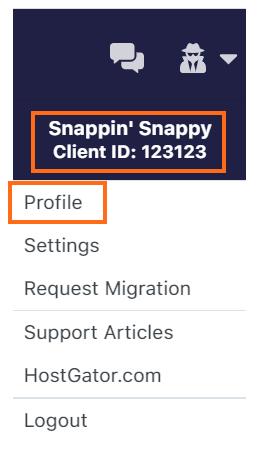 Account Profile